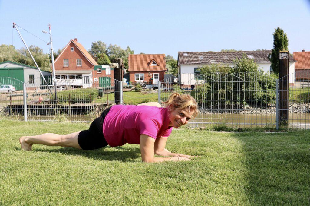 Yoga-Lehrerin Stefanie Meyer